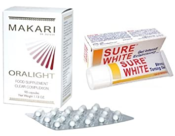 Premium Sure White STRONG Toning Gel - 30 g + ORALIGHT Hyper ...