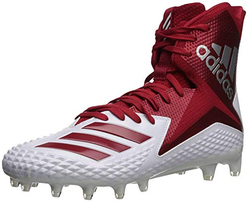 f2c97f9fd adidas Men's Freak X Carbon Mid Football Shoe, White Power red, 16 M US