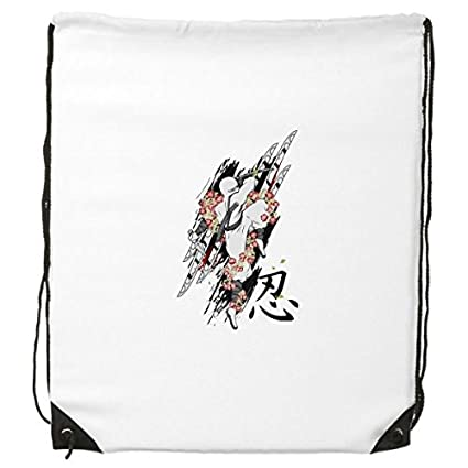 Mochila japonesa de estilo japonés Ninja Samurai Sword ...