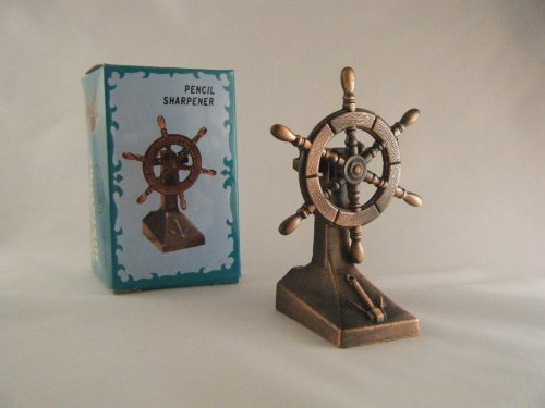 StarGifts Direct Ships Wheel Die-Cast Antique Style Novelty Pencil Sharpener by StarGifts Direct