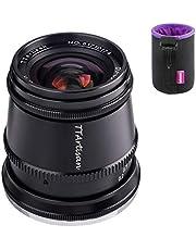TTartisan 17mm F1.4 APS-C Groothoeklens, compatibel met Sony E-mount camera's a5000 a5100 a6000 a6100 a6300 a6400 a6500 a6600 NEX-3 NEX-3N NEX-3R NEX-5T NEX-5R NEX-5 NEX-5N NEX-5C NEX-7