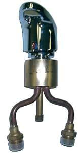 Belvedere 522 Single-Handle Deck Mount Faucet, Chrome