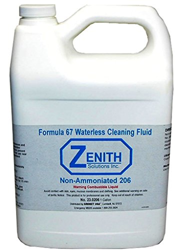 Zenith Formula 67 Waterless Cleaning Fluid GallonOrm-D