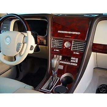 Lincoln Aviator Interior Wood Dash Trim Kit Set 2003 2004 2005 2006 Automotive