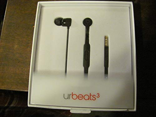 Beats ur B e a t s 3 Earphones with 3.5 mm Plug with Four Size Eartips Options (Black)