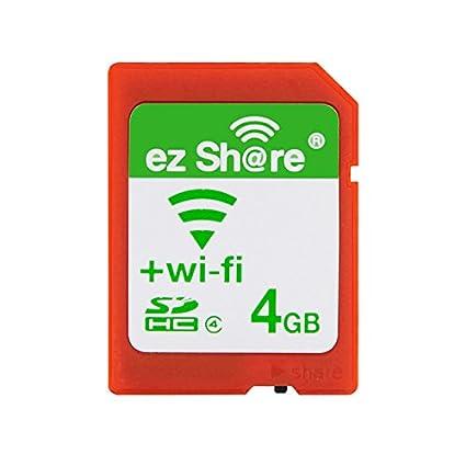 Ez Share - Tarjeta de Memoria SD para Cámara WiFi (32 G, Sdhc ...
