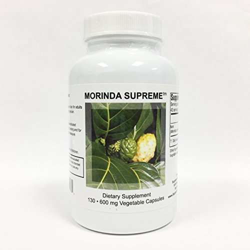 Supreme Nutrition Morinda Supreme, 130 Whole Noni Fruit Capsules Review