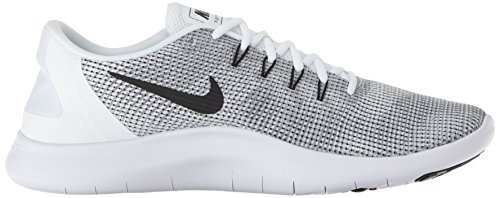 001 Herren Nike 2018 Laufschuh Black Uomo Run White Running Grey Multicolore Scarpe Flex Cool FqrOqwd