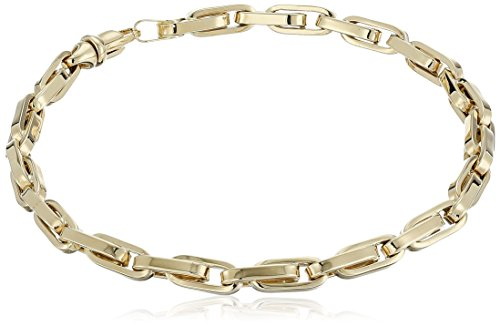 Mens-14k-Yellow-Gold-Link-Bracelet-85
