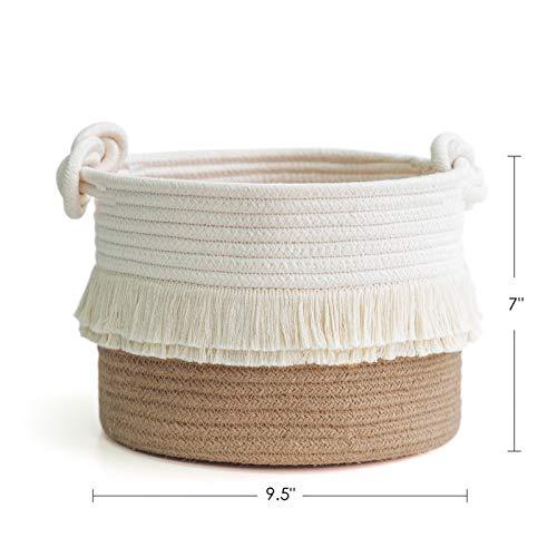 handmade basket,mini basket,Storage bakset storage basket Small basket with tassels Kids  basket bacherolet basket gift