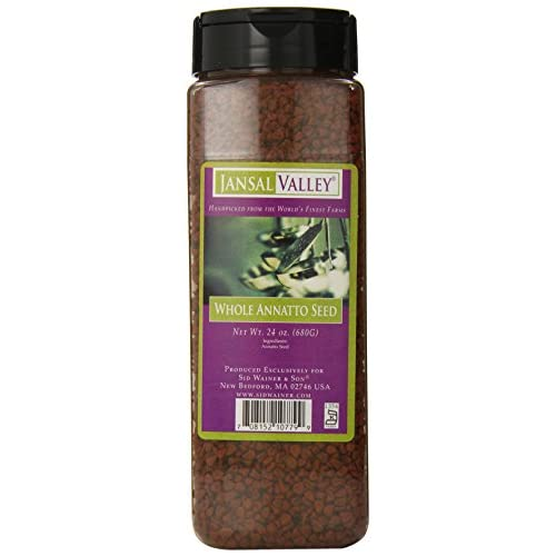 Jansal Valley Whole Annatto Seed, 24 Ounce free shipping