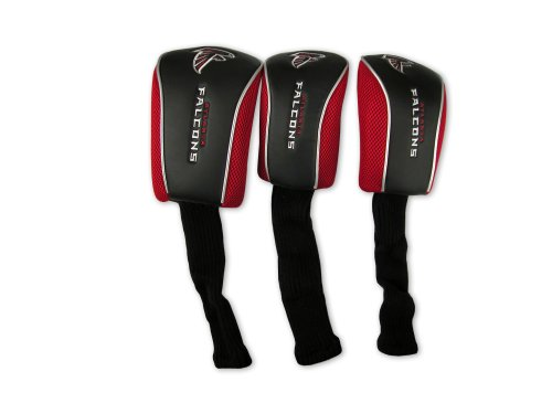 WinCraft NFL Atlanta Falcons 3 Pack Mesh Longneck Headcover Set by WinCraft