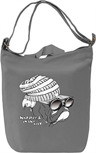 Stylish Dog Borsa Giornaliera Canvas Canvas Day Bag| 100% Premium Cotton Canvas| DTG Printing|