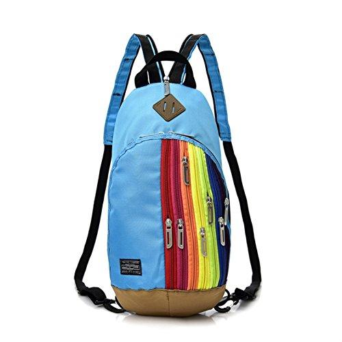 Bag Bag Parenting Fashion Backpack Shoulder Children's Rainbow Messenger Bag Women's zawqvX