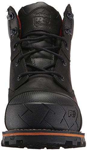 Timberland PRO Men's Boondock 6'' Composite Toe Waterproof Industrial and Construction Shoe, Black Full Grain Leather, 10 M US by Timberland PRO (Image #4)