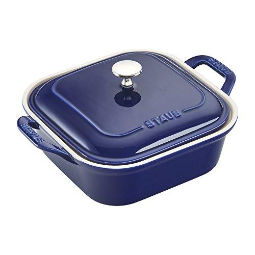 Staub 40508-637 Baking-Dishes, 9'' x 9'', Dark Blue by Staub