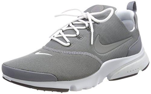 Nike Hommes Presto Mouche Chaussure De Course Cool Gris / Blanc Pur Platine