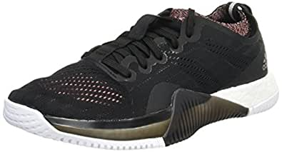 adidas Women's Crazytrain ELIT, Black/Pink, 6.5 US