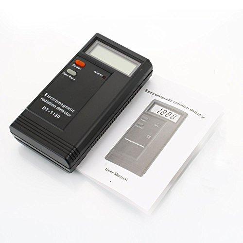 9V 50Hz~2000MHz Electro-magnetic LCD Digital Radiation Detector Sensor Meter Tester