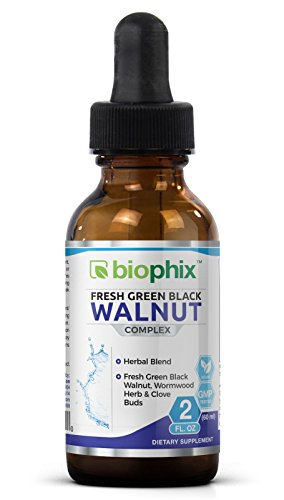 (Fresh Green Black Walnut Wormwood Extract 2 oz - Natural Digestive Cleanse | Intestinal Cleansing | Detoxifying with Potent Herbs Cleanser | Colon Health)
