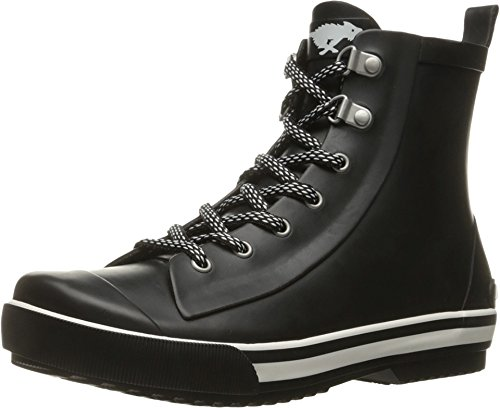 Rocket Dog Boot Casual - Rocket Dog Women's Rainy Rubber Rain Boot Black 6 M US
