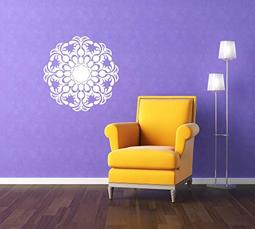 Medallion Decal Ceiling Medallion Decorative Design Nursery Wall Art Home Decor Ornate Baroque Bedroom Office Nursery Wall Art and Stick Made in USA