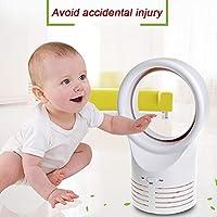 AKAKKSKY Ventilador sin aspas Diseño silencioso de Seguridad en el ...