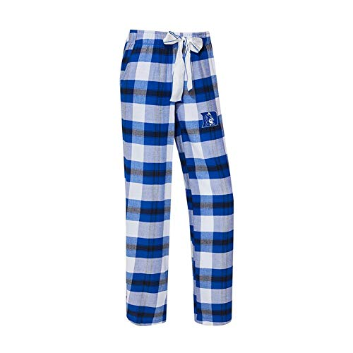 (Concepts Sport Duke University Blue Devils Women's Flannel Pajamas Plaid PJ Bottoms (X-Large))