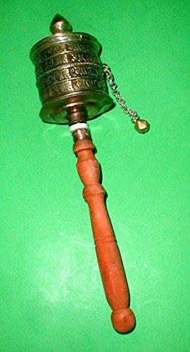 Tibetan Prayer Set Prayer Wheel Prayer Flag Tingshas Bell
