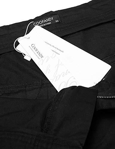 tinta Unita Con Pantaloni Casual Uomo Jeans Black Strech Fit Bandage Silm Stile d Semplice Multi aFxwPq7