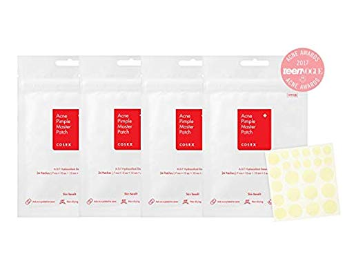 Cosrx Acne Pimple Master Patch, (#), 24 Count (4 Pack)