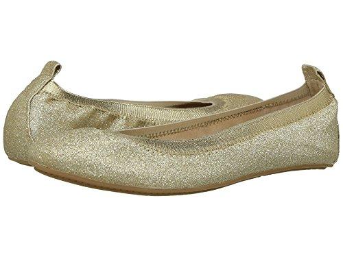 Yosi Samra Girls' Miss Samara Ballet Flat, Gold/Gold, 9 M US Toddler - Image 3