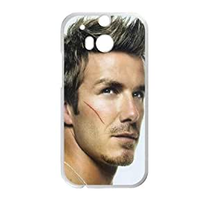 David Beckham HTC One M8 Cell Phone Case White as a gift I720521
