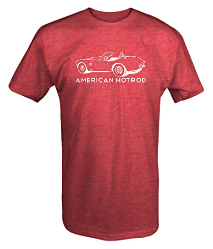 American Hotrod Shelby Cobra Roadster Classic Muscle Car T shirt - Xlarge