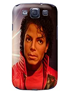 Faustino Olea Modern pattern tpu skin back cover case with lovely cartoon for Samsung Galaxy s3 (Michael Jackson)