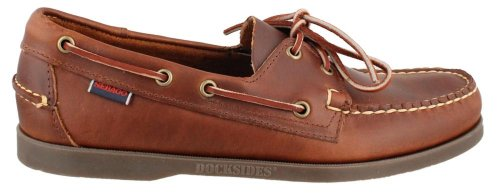ES Non-Slip Boat Shoes BROWN 9.5 W (Sebago Mens Slip)