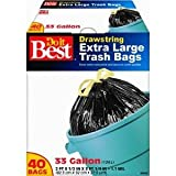 Trash Bag, 33GAL/40CT TRASH BAG