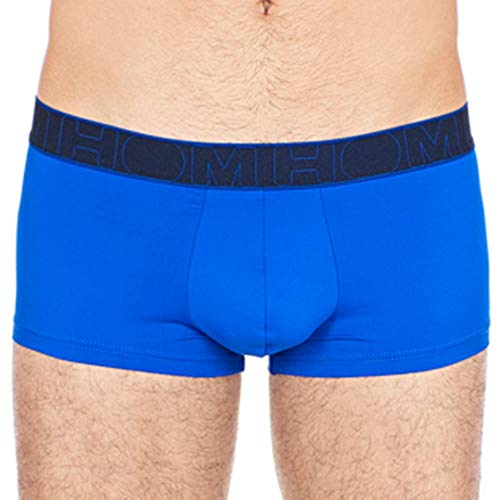 hom Men's Soft Trunks Electric Blue Small