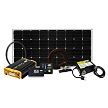 Go Power! Weekender SW Complete Solar and Inverter System, 160W