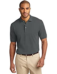 Men's Tall Pique Knit Polo