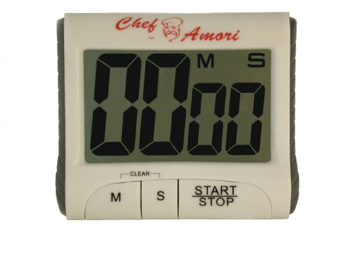 Digital Electronic Countdown Kitchen Timer - Loud With Magnet - Digital Magnetic Minute Timers For Kids Classrooms Tea Egg Food Novelty Sports