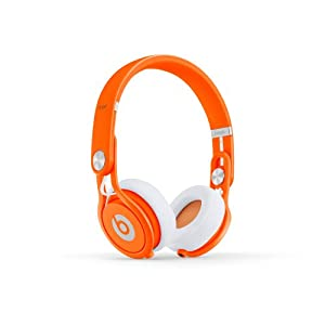 Beats Mixr Wired On-Ear Headphone - Orange (Discontinued by Manufacturer)