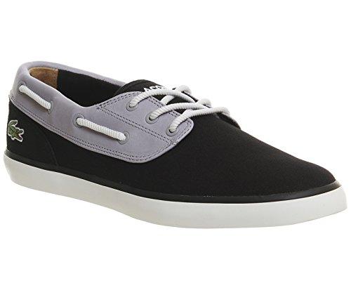 Lacoste Hommes Noir Jouer Deck 117 1 CAM Chaussures