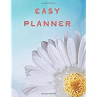 Easy Planner: Weekly Food and Exercise Journal: 52 Week Planner Great for Diet Health and Weight Loss