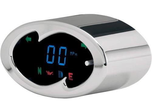 DAKOTA DIGITAL(ダコタデジタル) 5000 デジタルスピードメーター WAVE CHROME ハーレー用   B078SMPGY3