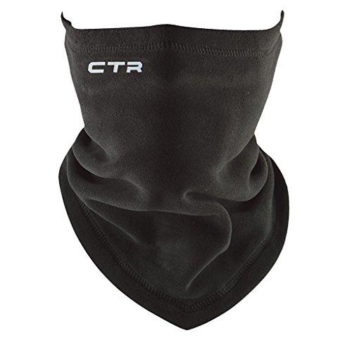 Chaos -CTR Chinook Micro Fleece Neck Gaiter/Tube, Black, One Size - Micro Fur Stretch Tube