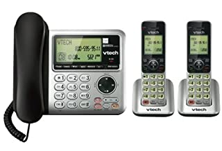 Vtech DECT CS6649-2 6.0 2-Handset Cordless/Corded Phone System with Digital Answering Machine, Dual Speakerphones, Dual Caller ID (B008H9YQRE) | Amazon price tracker / tracking, Amazon price history charts, Amazon price watches, Amazon price drop alerts