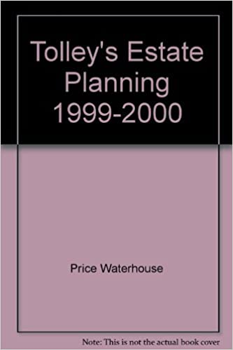 Tolley's Estate Planning 1999-2000