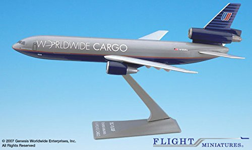 United Worldwide Cargo (Flight Miniatures United Worldwide Cargo Douglas DC-10 1:250 Scale REG#N1858U)