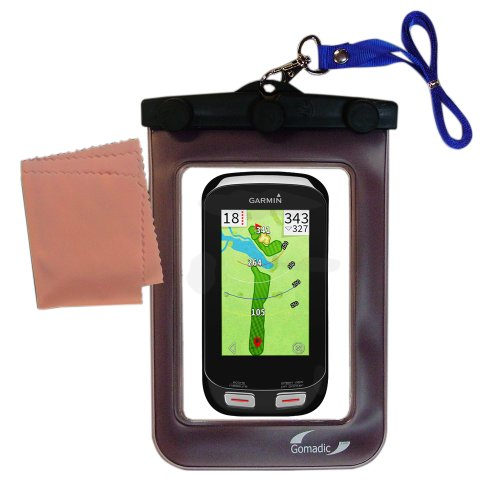 Detachable Pda Case - outdoor Gomadic waterproof carrying case suitable for the Garmin Approach G8 to use underwater - keeps device clean and dry